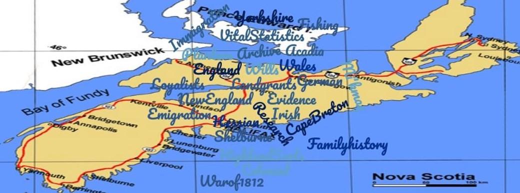 Nova Scotia Ancestors Workshop
